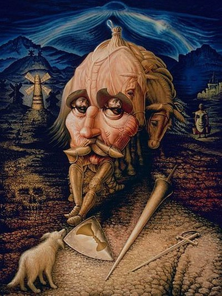 don quixote reality vs illusion essay Review from all of don quixote including the background info learn with flashcards, games, and more — for free.