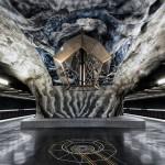 Стокгольмское метро: в гостях у горного Короля