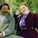 Наталья Нордман-Северова. Портрет жены художника