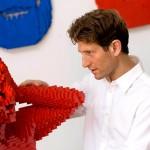 Безумный конструктор: современный LEGO Art