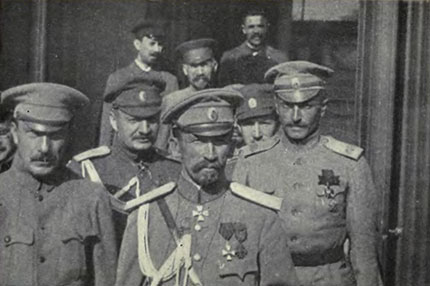 General_Kornilov_and_his_staff