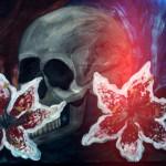 Цветы и черепа