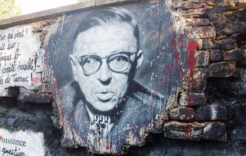 sartre essay on existentialism Any man who sets up a determinism is a dishonest man —jean-paul sartre those who hide their complete freedom from themselves out of a spirit of.
