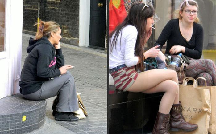 Женщина всем дает на улице фото 301-734