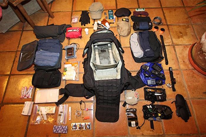 Как оптимально расположить вещи в рюкзаке : выживание.